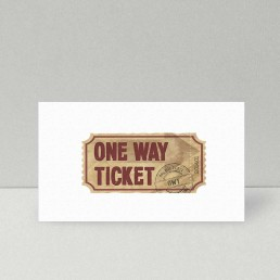 Logodesign One Way Ticket